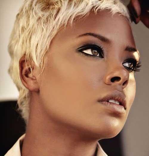Eva-Marcille-short-blonde-hair Black Women with Short Hairstyles