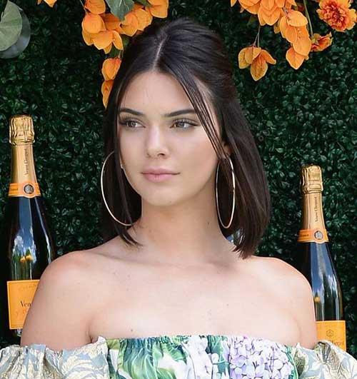 Kendall-Jenner-Short-Updo-Hairstyle Kendall Jenner Short Hair Pics