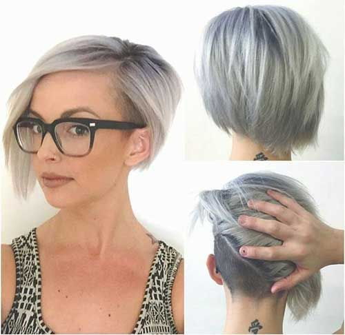 Layered-Bob-Hairstyle Awesome Undercut Hairstyles for Girls