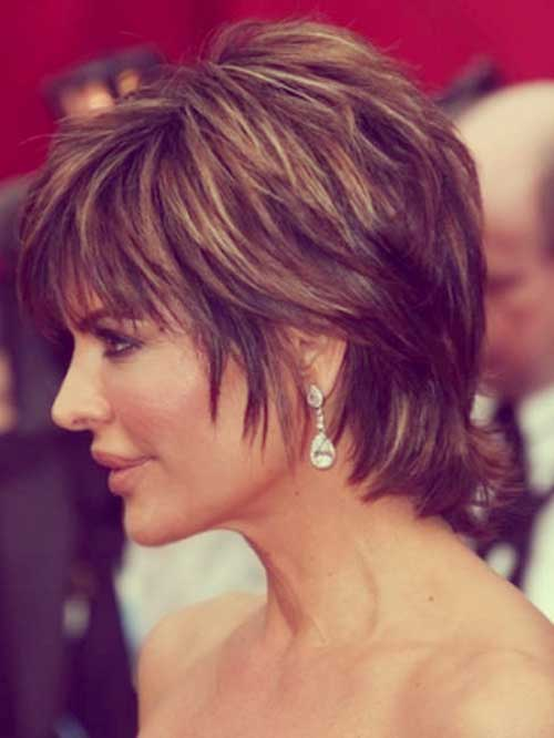 Lisa-Rinna-short-hair-styles Top Celebrity Short Haircuts