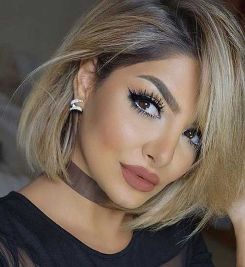 Long-Bob Latest Short Haircuts for Women - Short Hairstyle
