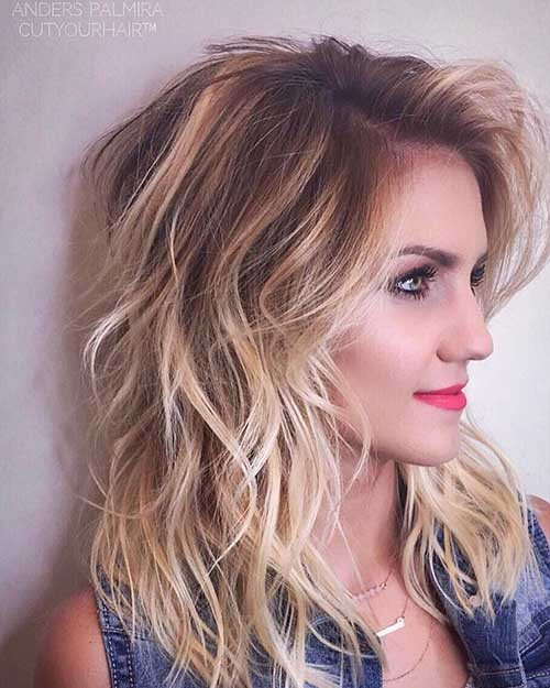 Longer-Hairstyle Alluring Short Curly Hair Ideas for Summertime