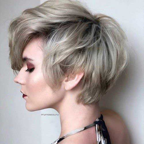 Low-Maintenance-Short-Layered-Hairstyle Latest Short Haircuts for Women - Short Hairstyle