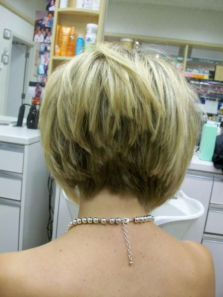 Nice-Back-View-of-a-Graduated-Bob-Hair-with-Awesome-Layers Best Bob Hairstyles 2019