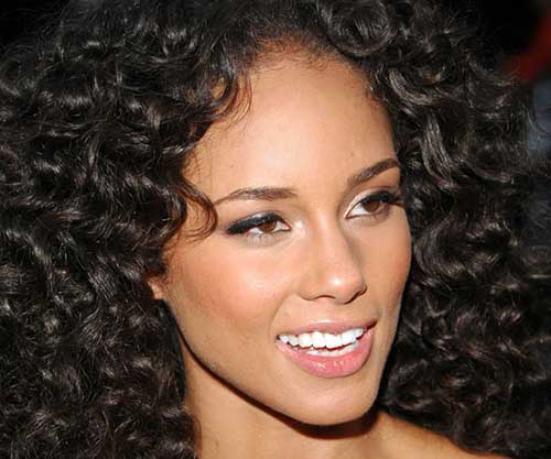 Nice-Black-Quick-Curly-Weave-Hair Beautiful Short Curly Weave Hairstyles 2019