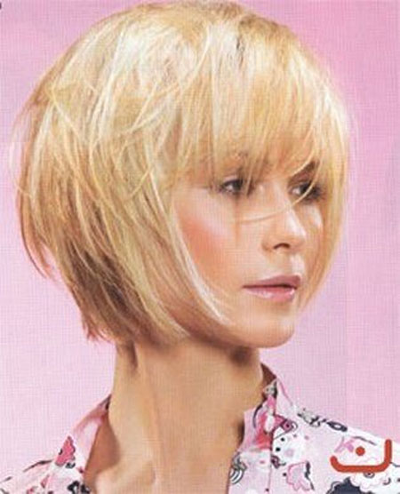 Nice-and-Cool-Bob-Hair-with-Messy-Arrangement-and-Charming-Nonchalant-Bangs Best Bob Hairstyles 2019