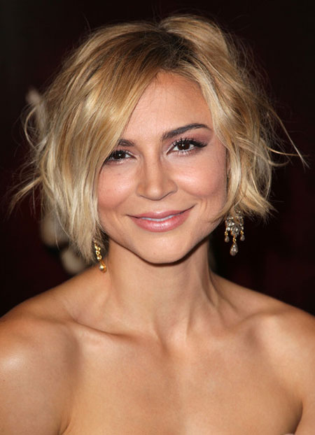 Nice-and-Cute-Classic-Bob-With-Pretty-Nonchalant-Messy-Arrangement Best Bob Hairstyles 2019