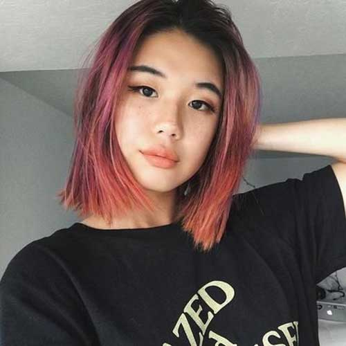 Pink-Ombre-Hair Latest Trend Hair Color Ideas for Short Hair