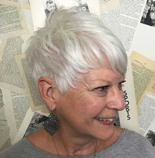 Pixie-Haircut-for-Thin-Hair Short Hairstyles for Older Women with Thin Hair