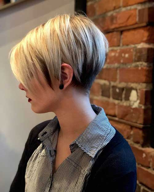 Pixie-Short-Hairstyle-Highlights Latest Short Haircuts for Women - Short Hairstyle
