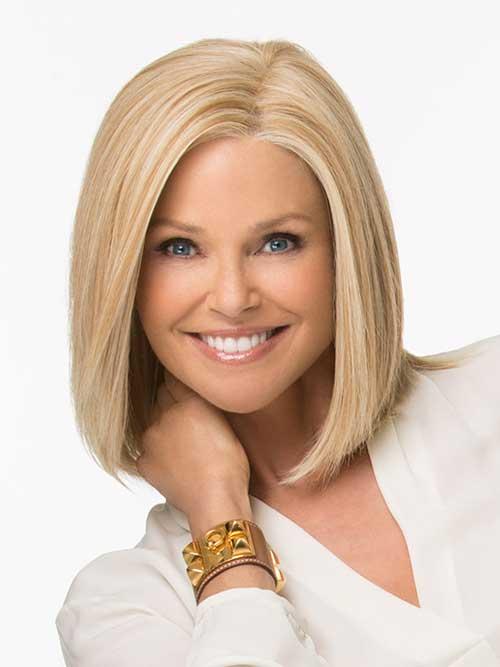 Pretty-Blonde-Short-to-Medium-Hair-Idea-for-2019 Short Medium Hairstyles 2019