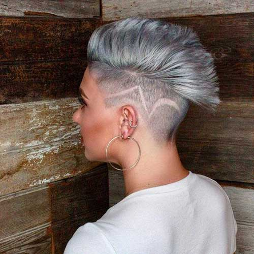 Punk-Trend Latest Short Haircuts for Women - Short Hairstyle