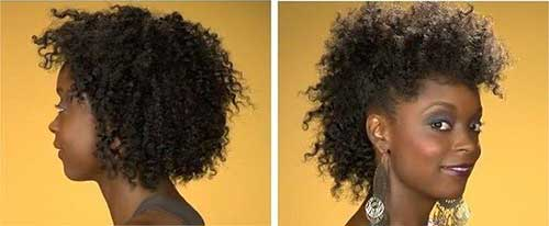 Quick-Curly-Short-Natural-Weave-Hair Beautiful Short Curly Weave Hairstyles 2019
