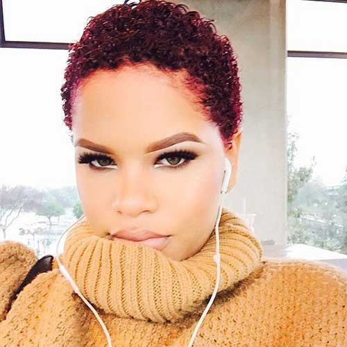 Really-Short-Natural-Hair Latest Short Natural Hairstyles for Black Women