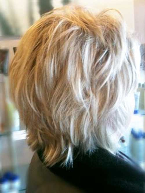 Shag-Haircut Best Short Layered Haircuts for Women Over 50