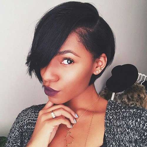 Short-Bob-Cut-for-Black-Hair Latest Short Haircuts for Women - Short Hairstyle