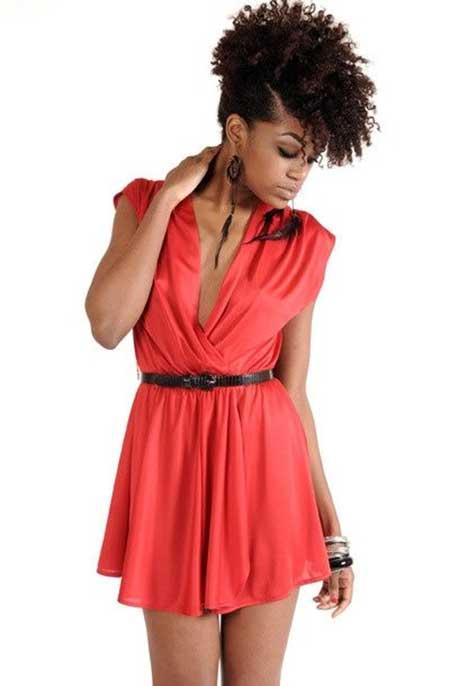 Short-Curly-Original-Look Nice Short Haircuts for Black Women