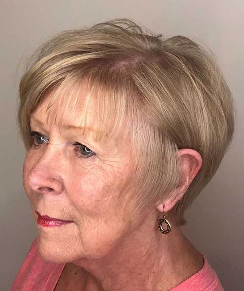 Short-Fine-Hair-for-Older-Ladies Short Hairstyles for Older Women with Thin Hair
