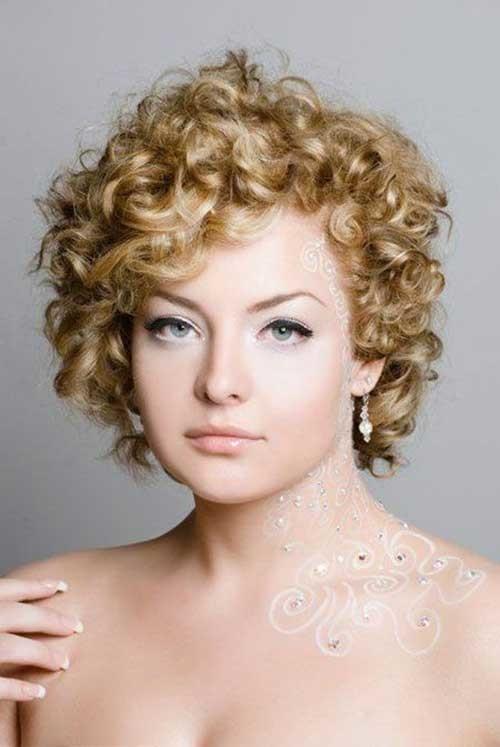 Short-Haircuts-For-Curly-Hair-13 Cute Short Haircuts For Curly Hair