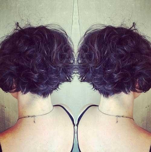 Short-Haircuts-For-Curly-Hair-15 Cute Short Haircuts For Curly Hair