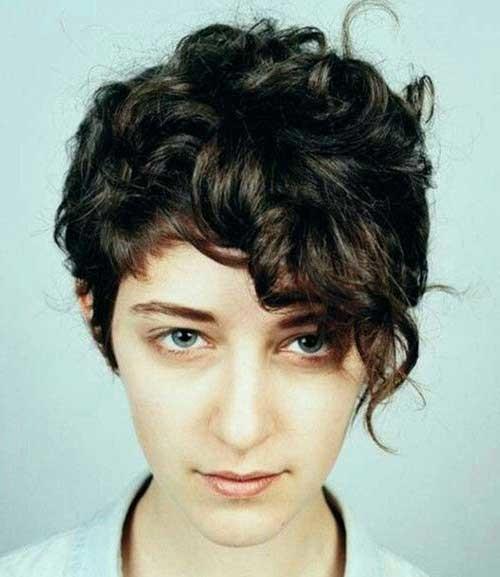 Short-Haircuts-For-Curly-Hair-3 Cute Short Haircuts For Curly Hair