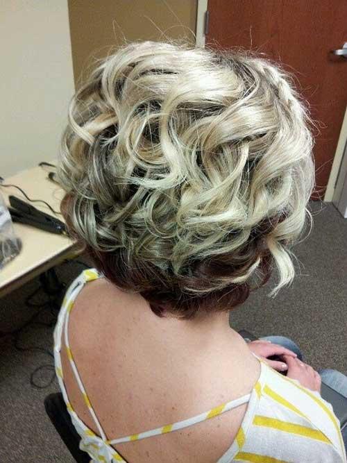 Short-Layered-Curly-Blonde-Hair-Idea Best Short Layered Curly Hair