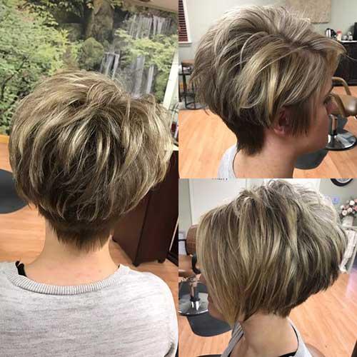 Short-Pixie-Bob-Style 2019 Short Haircuts for Older Women