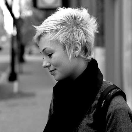 Short-Pixie-Look New Short Blonde Hairstyles
