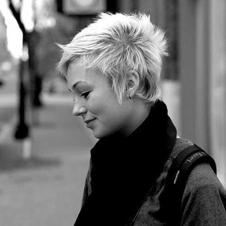 Short-Pixie-Look New Short Blonde Hairstyles