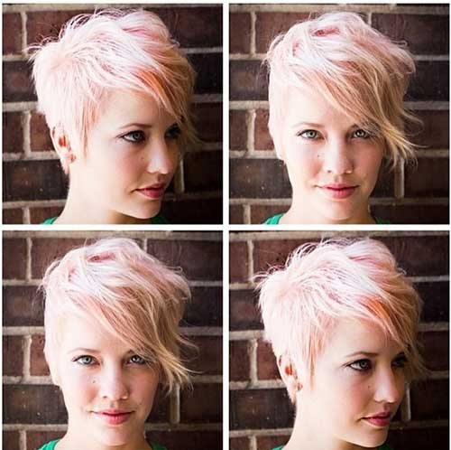 Short-Punk-Blonde-Hair-Cut Best Punky Short Haircuts
