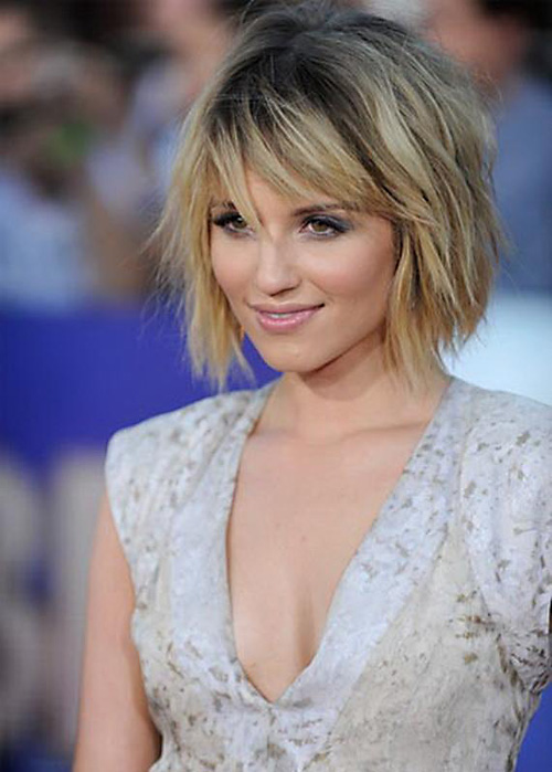 Short-Shaggy-Bob-with-Bangs-Pictures Very Short Haircuts with Bangs for Women