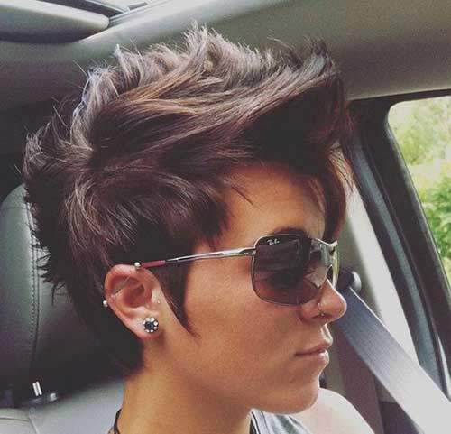 Thick-Hair Latest Short Haircuts for Women - Short Hairstyle