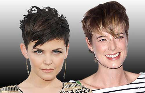 Trendy-Super-Short-Hair-8 Best Pics of Layered Short Hair for Round Face