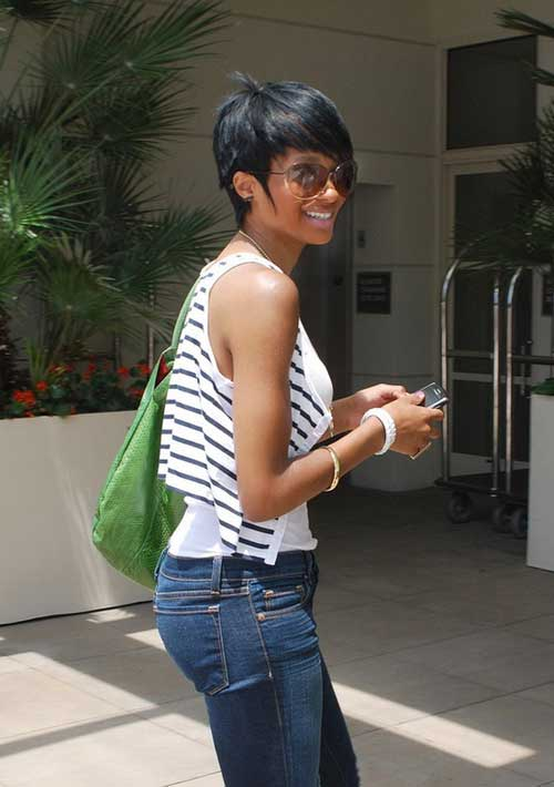 Trendy-short-hair-for-black-women-2013 Black Women with Short Hairstyles