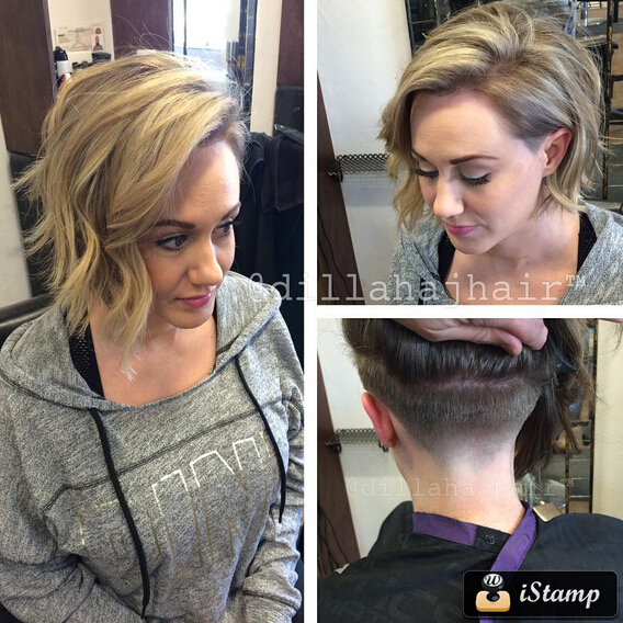 Undercut-Hairstyle-for-Medium-Wavy-Hair Awesome Undercut Hairstyles for Girls