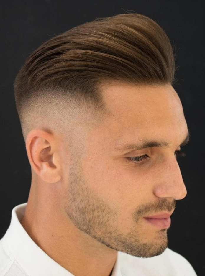 Undercut-with-Short-Pompadour Stylish Undercut Hairstyle Variations For 2019