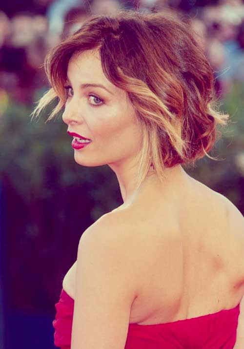 Violante-Placido-short-hair Top Celebrity Short Haircuts