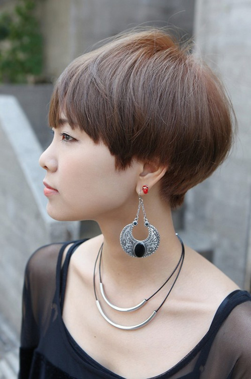cute-short-haircuts-with-side-bangs Very Short Haircuts with Bangs for Women