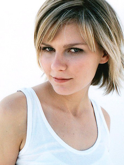 kirsten-dunst-short-hair-with-bangs Very Short Haircuts with Bangs for Women