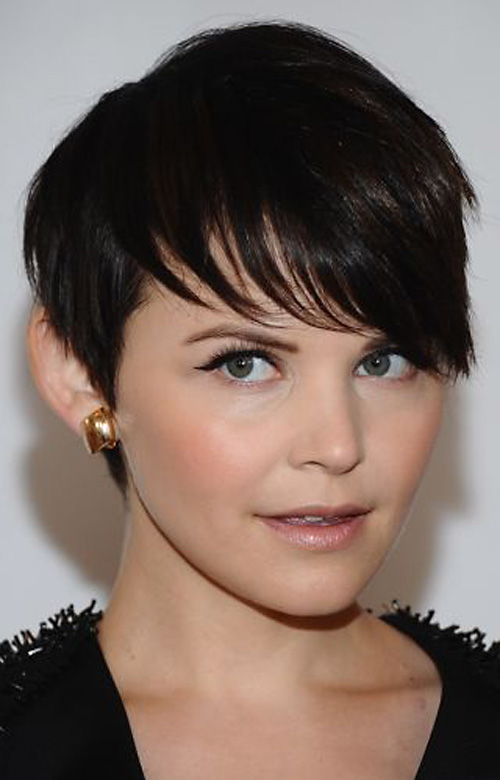 short-haircuts-with-bangs Very Short Haircuts with Bangs for Women