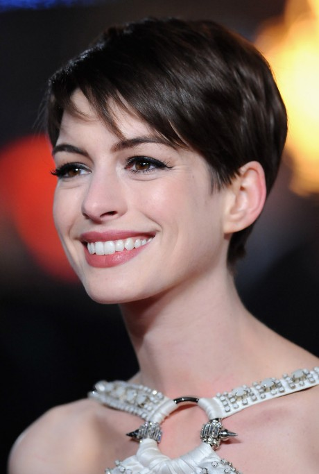 Anne-Hathaway-Cute-Pixie-Cut-for-Summer Popular Haircuts for Summer Hairstyles 2019