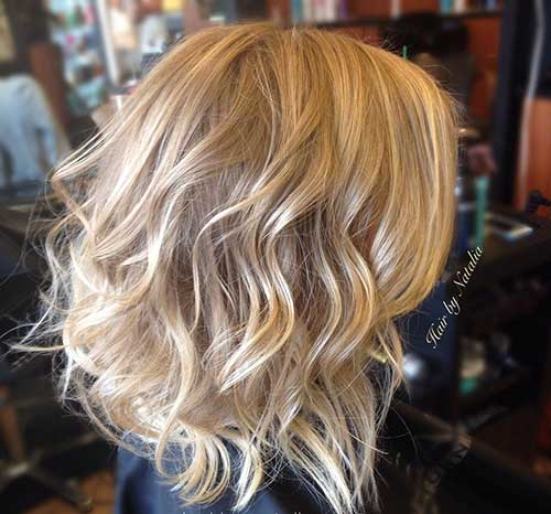 Blonde-Balayage-Short-Hair Latest Short Hairstyles for An Amazing Look