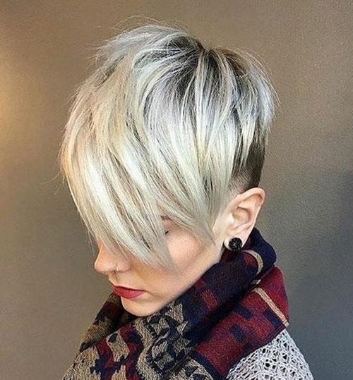 Blonde-Pixie-Short-Hairstyle Best Pics of Short Straight Blonde Hair