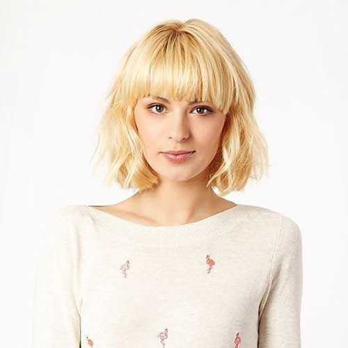 Bob-with-Bangs Most Beloved Short Haircuts with Bangs