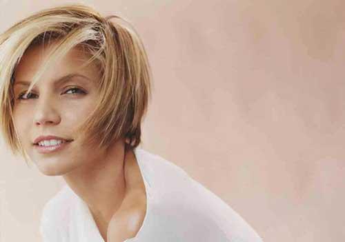 Charisma-Carpenter's-Short-Blonde-Hair Female Celebrity Short Haircuts 2015