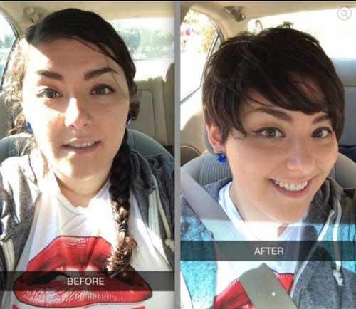 Chubby-Girl-Short-Hair Pretty Short Haircuts for Chubby Round Face
