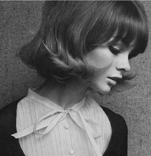 Classy-Look-Short-Hair-and-Bangs Most Beloved Short Haircuts with Bangs