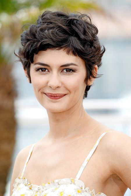Curly-pixie Hypnotic Short Hairstyles for Women with Square Faces
