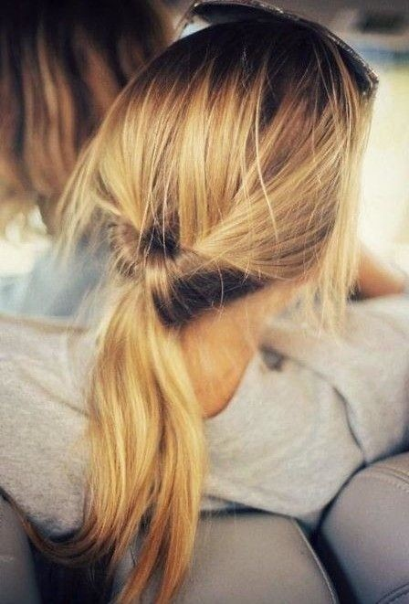 Cute-Ponytail-Hairstyle-for-Thin-Hair Beautiful Hairstyles for Thin Hair 2019