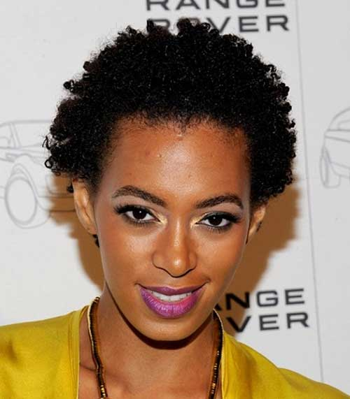 Cute-Short-Natural-Afro-Hair-for-Women Cute Short Natural Hairstyles